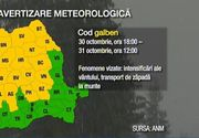 Vine inghetul! Meteorlogii au emis cod galben de vant puternic, cu rafale care vor depasi 90 de kilometri pe ora - Temperaturile vor scadea dramatic