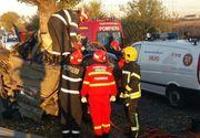 Tragedie in Capitala, noaptea trecuta! Doua persoane au murit dupa ce o masina s-a izbit de un copac