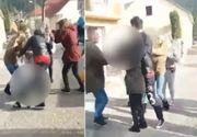 Scene SOCANTE la un liceu: Cateva fete au rupt in bataie o eleva pentru comentariile de pe Facebook la adresa celor 5 tineri morti in accidentul de masina