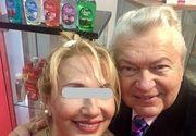 Gheorghe Turda s-a dus la expozitie sa faca reclama standului cu cosmetice al noii sale iubite! Blonda Liliana, care este cu 19 ani mai tanara decat artistul popular, detine si o agentie de turism!