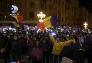 """Revolutia fiscala"" a scos zeci de mii de oameni in strada! Cum a aratat manifestatia de duminica seara"