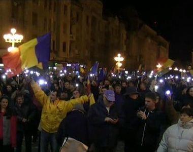 """""""Revolutia fiscala"""" a scos zeci de mii de oameni in strada! Cum a aratat..."""