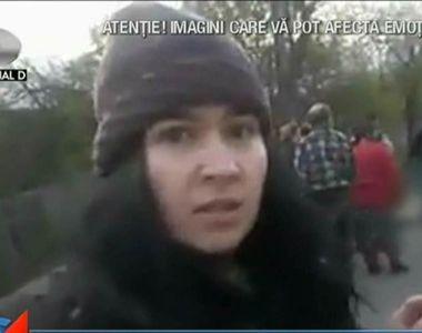 Scene oribile in Valcea! O femeie moarta a zacut in mijlocul strazii aproape o ora!...