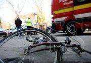 Buzau: Un tanar beat a accidentat mortal un biciclist. El a incercat sa-si continue drumul, dar a fost blocat de alti soferi
