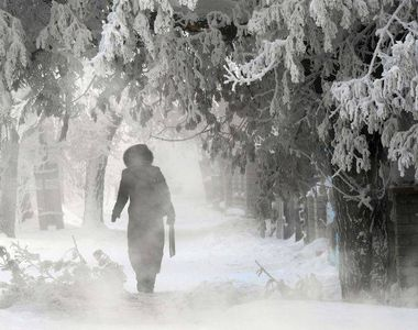 O noua avertizare meteorologica: Urmează cea mai grea iarna din ultimii ani!