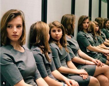 Fetele s-au ingramadit sa prinda un loc la scoala asta. Sunt dispuse sa dea 1.500 de...