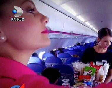 Romancele au luat cu asalt scolile de stewardese. Calatoriile, programul si banii multi...