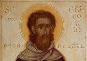 Calendar ortodox 20 noiembrie: Sfantul Cuvios Grigorie Decapolitul este pomenit astazi