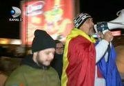 Proteste in mai multe orase din tara. Sustinatorii PNL au iesit in strada dupa ce s-a citit motiunea de cenzura in Parlament