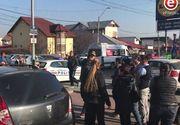 Pericol de prabusire a unei macarale in Pitesti! Zeci de persoane, evacuate din locuinte si dintr-un magazin