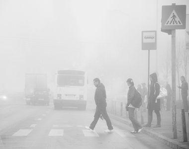 Cod galben de ceata in 17 judete in urmatoarele ore, pe mai mai multe sosele circulatia...