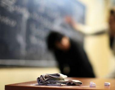 Ancheta a Inspectoratului Scolar, dupa ce au aparut imagini cu o profesoara palmuita si...