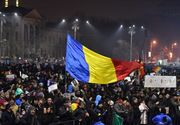 Scene socante! Protestatarii au rupt in bataie un batran, in Piata Victoriei