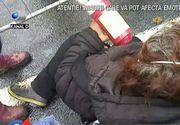 Violente la protestele din Piata Victoriei! Un trecator a injurat manifestantii!
