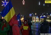 Protestatarii s-au strans din nou in Piata Victoriei!