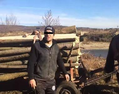 Politisti amenintati cu moartea de catre hotii de lemne vranceni!