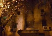 Incendiu de proportii in Constanta! Cinci persoane au fost evacuate, printre care si un invalid. Pompierii au reusit sa lichideze flacarile
