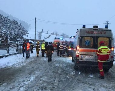 Politie: Cei sapte raniti in accidentul din Harghita, dusi la spitalul din Toplita,...