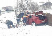 Un mort si trei raniti intr-un accident produs pe DN 2, in Suceava; traficul este blocat