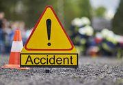 Accident grav pe Autostrada Bucuresti - Pitesti - Cel putin 11 persoane au fost implicate