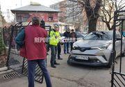 Directoarea unei scoli din Buzau a intrat cu masina intr-un grup de persoana din fata institutiei. A fost activat planul rosu de interventie