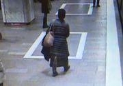 Panica la metrou! O alta femeie ameninta ca impinge de pe peron oameni in fata metroului! Politistii o cauta
