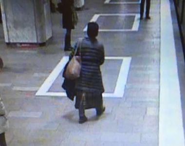 Panica la metrou! O alta femeie ameninta ca impinge de pe peron oameni in fata...