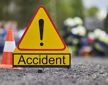Trei morti si o persoana in stop cardio-respirator dupa un grav accident de circulatie...