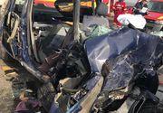 Un barbat a murit dupa ce ar fi adormit la volan! Masina pe care o conducea s-a izbit puternic de un cap de pod!
