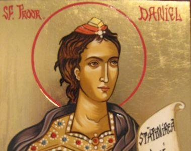 Aceasta este rugaciunea Sfantului Daniel pe care o poti citi in ziua in care este...