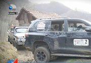 Misiune umanitara extrema in Muntii Buzaului! Membrii unui club off road au mers in cele mai inaccesibile zone si au impartit daruri la batranii si copiii sarmani