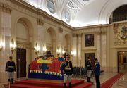 """""""Jandarmul cu voce de aur"""" s-a recules la sicriul Regelui Mihai: """"Manifestarea respectului si admiratiei fata de Majestatea Sa!"""""""