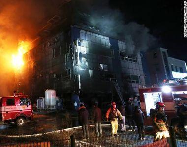 Incendiu devastator la o sala de fitness din Coreea de Sud. Pana la aceasta ora, 29 de...