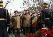 Zeci de bucuresteni au mers in fata sediului Televiziunii Romane pentru a-i comemora pe revolutionarii din 1989