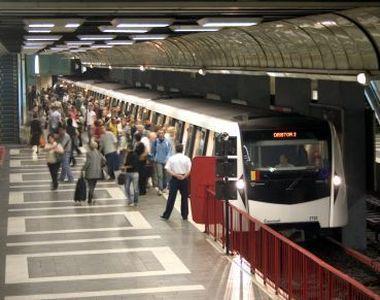 Se modifica programul de circulatie la metrou, incepand de pe 25 decembrie pana pe 2...