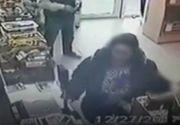 Imagini revoltatoare! O mama si-a indemnat fetita de doar 10 ani sa fure dintr-un magazin!