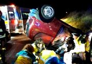 Accident ingrozitor in Italia. Doi romani, unchi si nepot, s-au rasturnat cu masina pe care o furasera