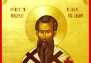 """Sfantul Vasile, considerat """"pazitorul de duhuri rele"""", este sarbatorit astazi. Obiceiuri si traditii"""