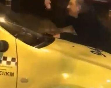 Scandal de Revelion. Ce a patit un taximetrist care a refuzat sa opreasca