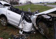 Politist de frontiera, mort in urma unui grav accident rutier, in Oradea. O alta persoana a fost grav ranita