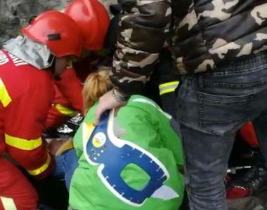 Sase persoane au fost ranite, in urma ciocnirii a doua masini pe DN7