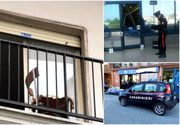 O copila romanca de 14 ani a sarit pe geam de la etajul 2 al locuintei sale din Italia - Acum se afla internata in spital