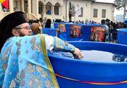 De unde este adusa apa ce va fi sfintita de Boboteaza la Patriarhie! Ce se face cu agheasma luata de la biserica in aceasta zi