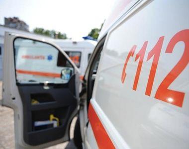 O caruta in care se aflau patru copii a fost izbita in plin de un autoturism