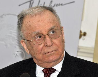 Fostul presedinte Ion Iliescu, indurerat la aflarea vestii mortii unui fost consilier...
