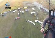Final necrutator pentru un parapantist profesionist din Timisoara. Pilotul cu sute de ore de zbor a murit la sol pe cand incerca sa repare o defectiune la motor