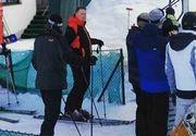 "Cat de priceput este Klaus Iohannis la schi! ""Schiaza de performanta, face sase-sapte coborari"""