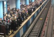 Incident tehnic la metrou! Un tren s-a stricat, provocand o aglomeratie de nedescris in statia Obor