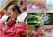 Sotul Cristinei Manea, tanara mama care a murit de cancer, acuzat ca a parasit-o in spital! Mesajul sfasietor al barbatului