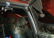 """Razbunare mafiota la Roman! Masina sefului de la investigatii criminale a fost incendiata in parcare - Prefectul cere """"toleranta zero"""" pentru cei care au facut asta"""